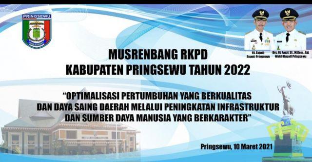 Musrenbang RKPD Kabupaten Pringsewu